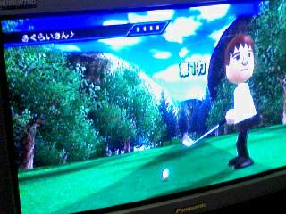 Wiiスポーツ ゴルフ